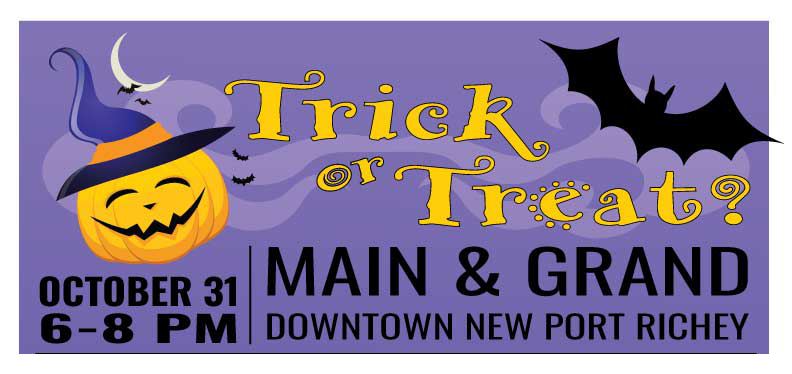Trick or Treat Downtown New Port Richey